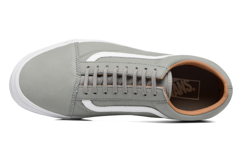 Sneaker Vans Old Skool grau ansicht von links
