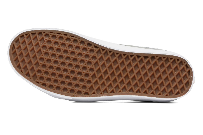 Sneaker Vans Old Skool grau ansicht von oben