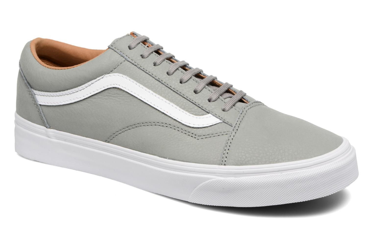 Old Skool (Premium Leather) Wild Dove/True White
