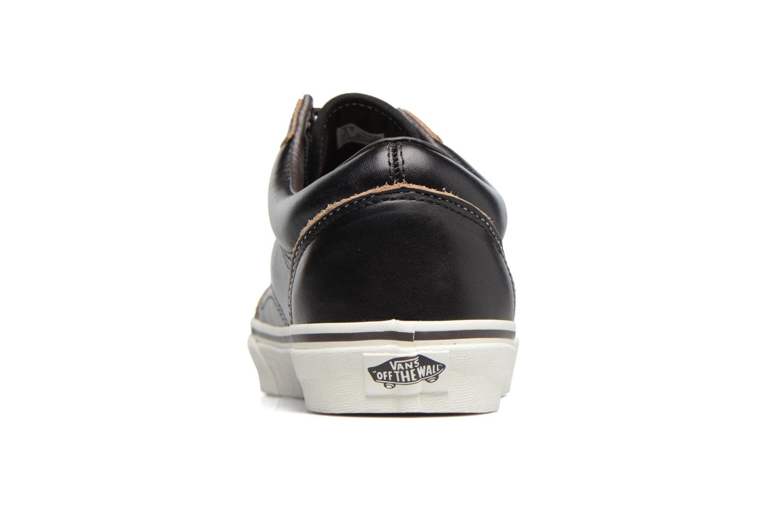 Trainers Vans Old Skool Black view from the right