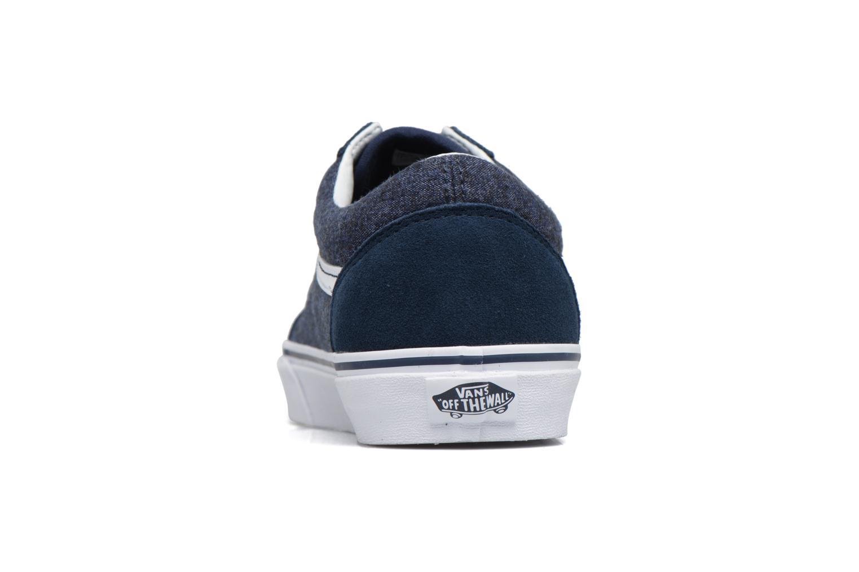 Sneakers Vans Old Skool Blauw rechts