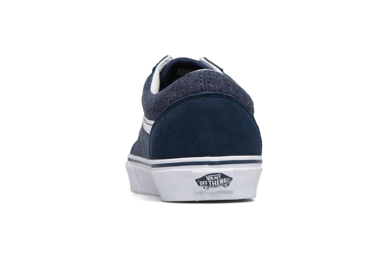 Sneakers Vans Old Skool Blå Se fra højre