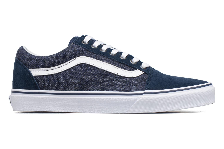 Sneakers Vans Old Skool Blauw achterkant