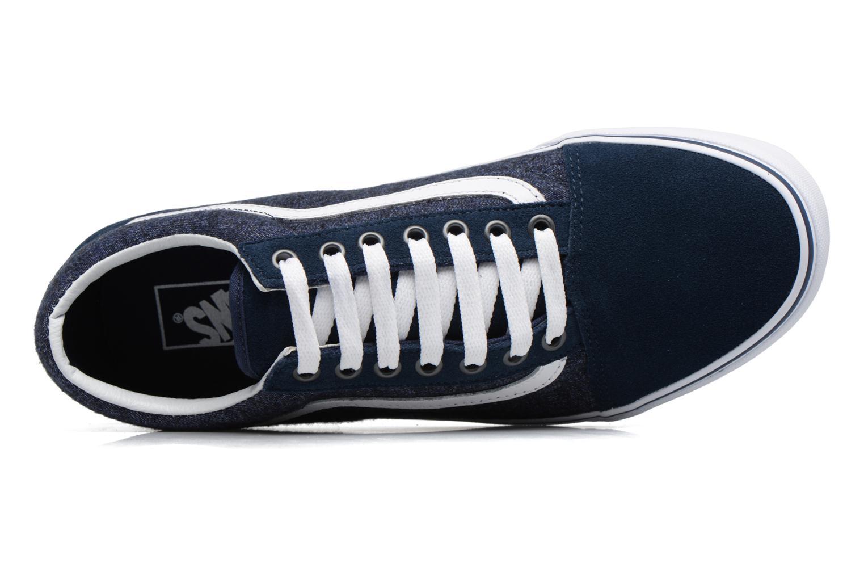 Sneakers Vans Old Skool Blå se fra venstre