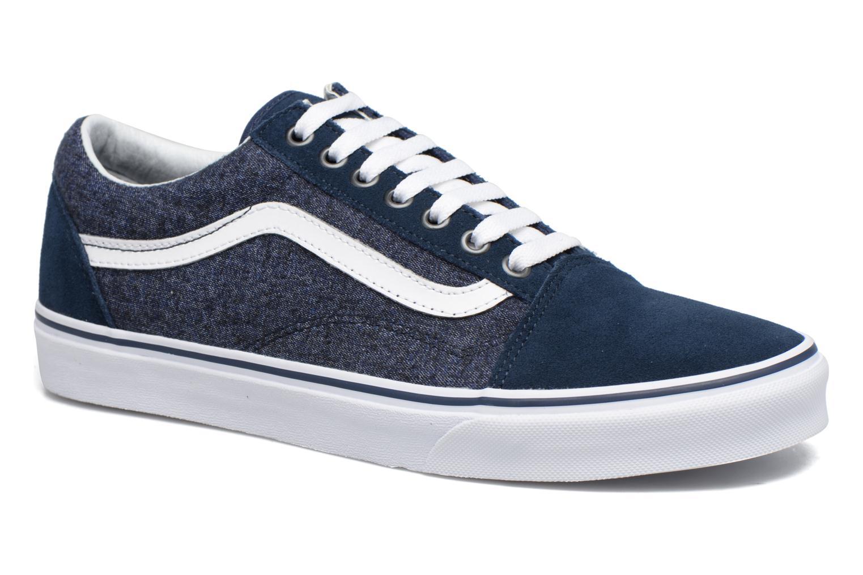 Sneakers Vans Old Skool Blå detaljeret billede af skoene