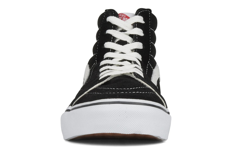 Black Vans SK8 Hi M (Noir)