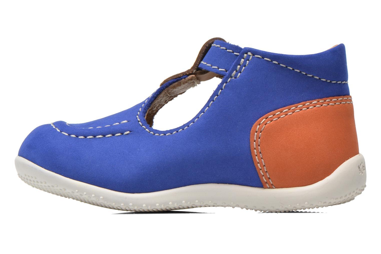 Bonbek bleu beige orange