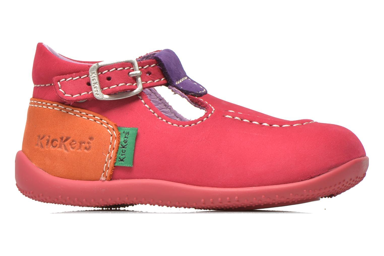Zomerlaarsjes Kickers Bonbek Roze achterkant