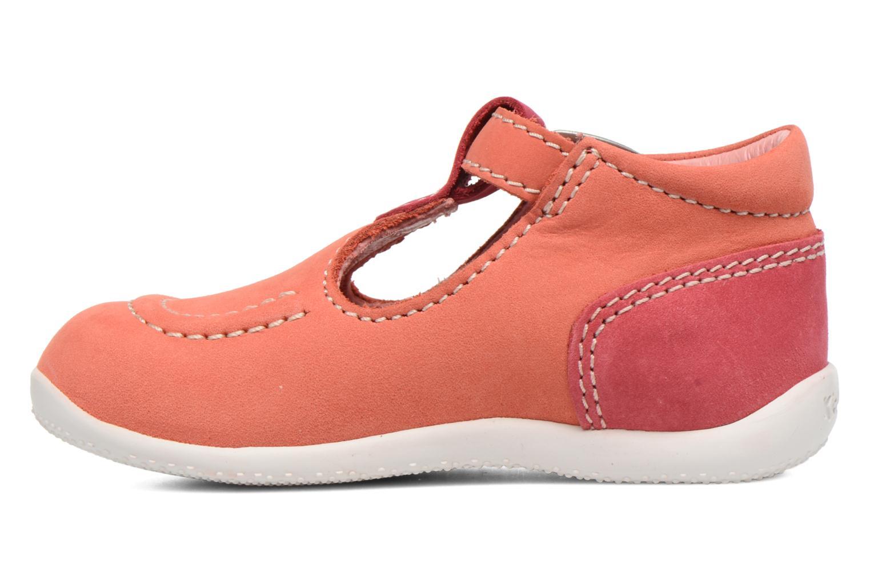 Zomerlaarsjes Kickers Bonbek Roze voorkant
