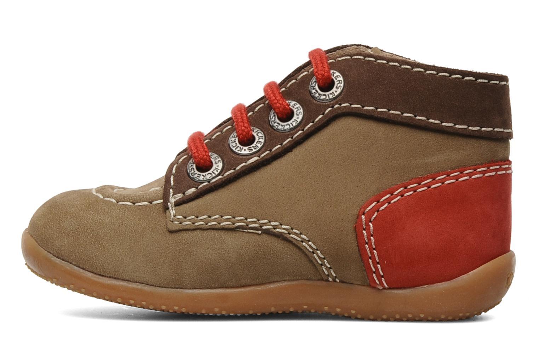 Stiefeletten & Boots Kickers Bonbon braun ansicht von vorne