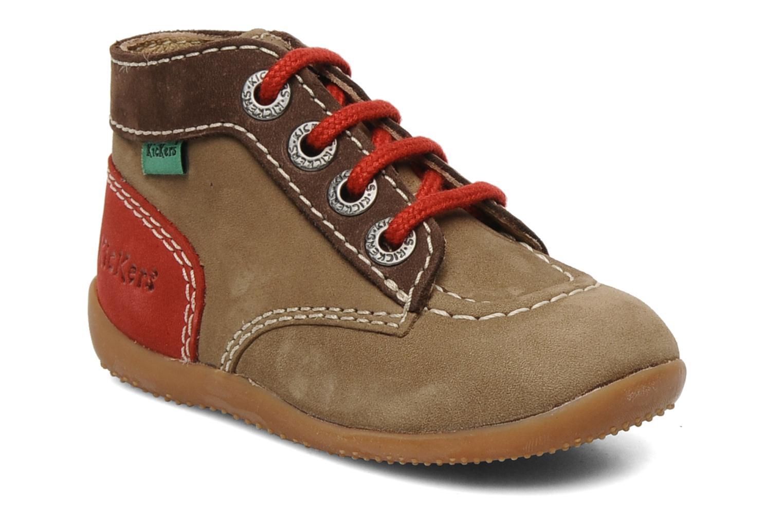 Stiefeletten & Boots Kickers Bonbon braun detaillierte ansicht/modell