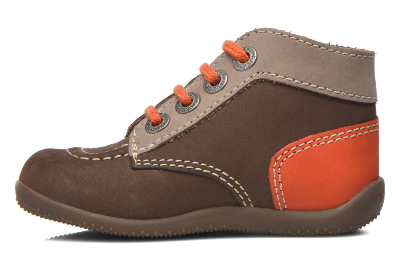 Bottines et boots Kickers Bonbon Marron vue face