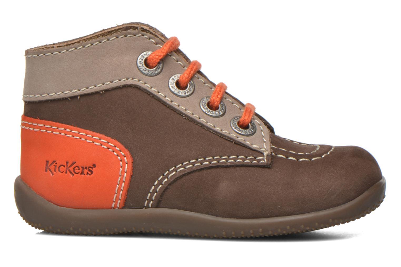 Boots en enkellaarsjes Kickers Bonbon Bruin achterkant