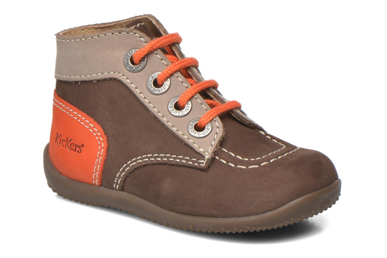 96bffc2822efe6 Kickers Bonbon (Marron) - Bottines et boots chez Sarenza (265398)