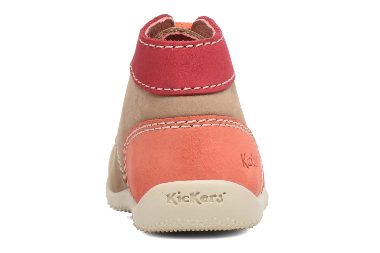 Stiefeletten & Boots Kickers Bonbon beige ansicht von rechts