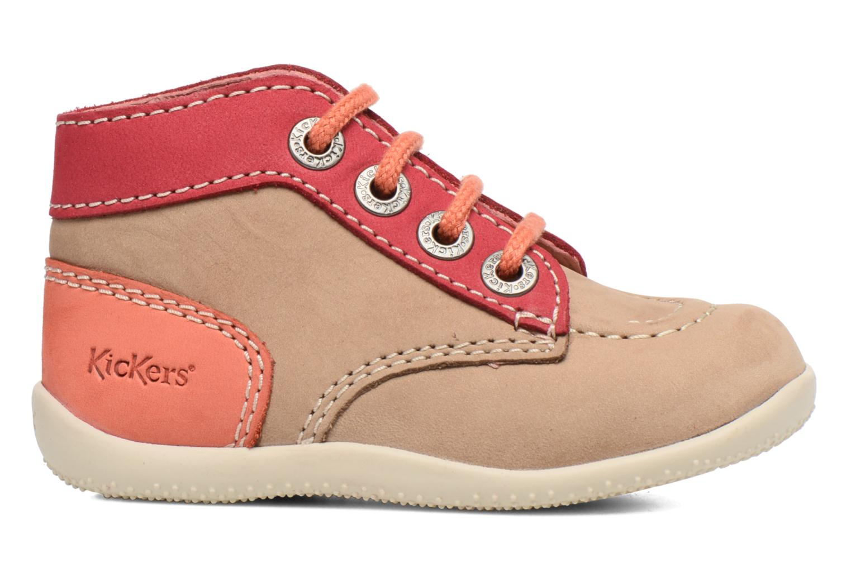 Stiefeletten & Boots Kickers Bonbon beige ansicht von hinten