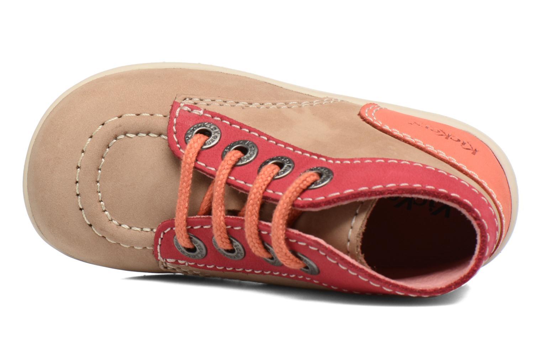 Bottines et boots Kickers Bonbon Beige vue gauche