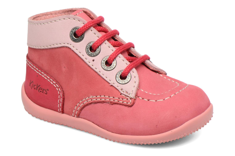 Stiefeletten & Boots Kickers Bonbon rosa detaillierte ansicht/modell