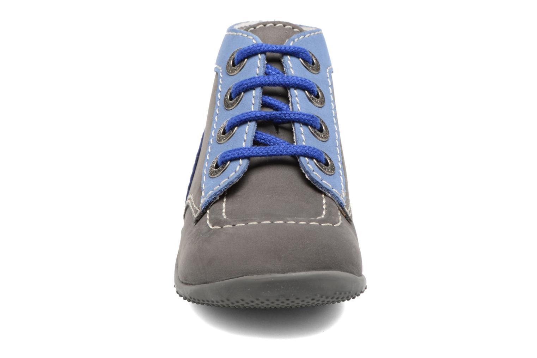 Bonbon Gris Fonce Bleu Bleu