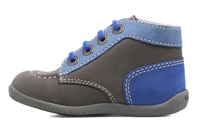 Stiefeletten & Boots Kickers Bonbon grau ansicht von vorne
