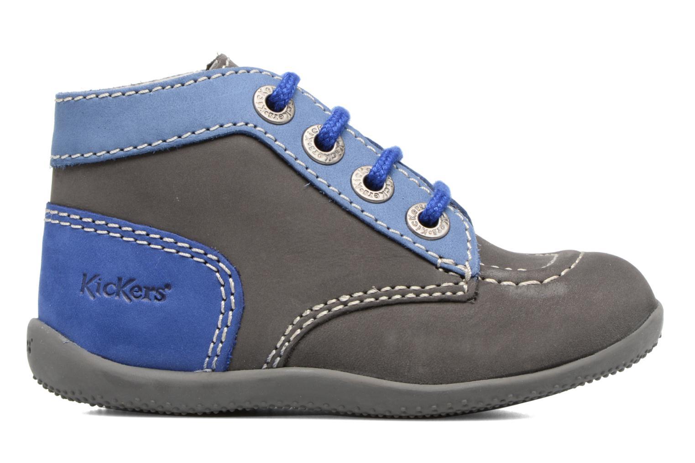 Boots en enkellaarsjes Kickers Bonbon Grijs achterkant