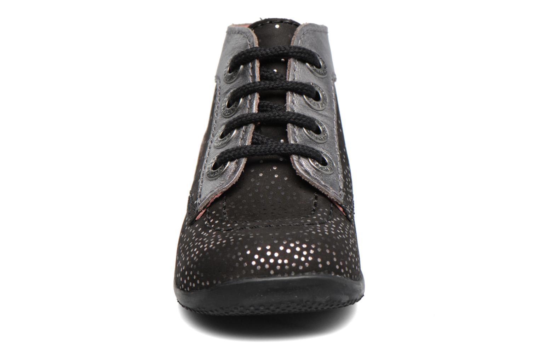 Bottines et boots Kickers Bonbon Noir vue portées chaussures