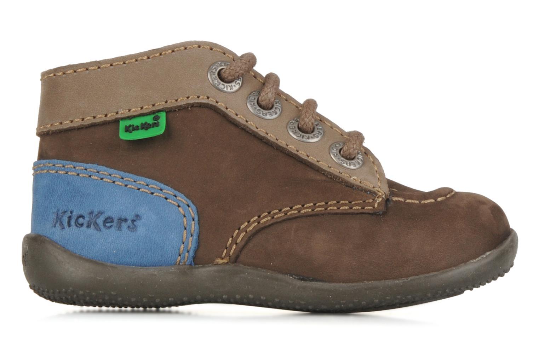 Bottines et boots Kickers Bonbon Marron vue derrière