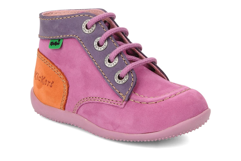 Stiefeletten & Boots Kickers Bonbon lila detaillierte ansicht/modell