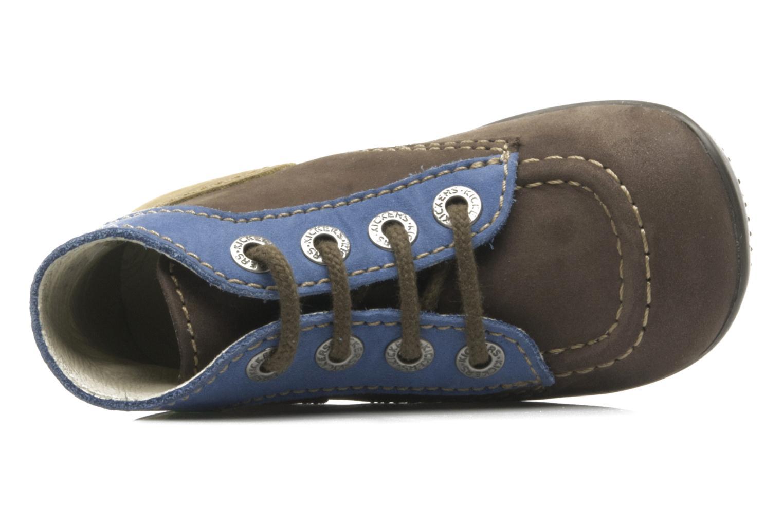 Boots Kickers Bonbon Brun bild från vänster sidan