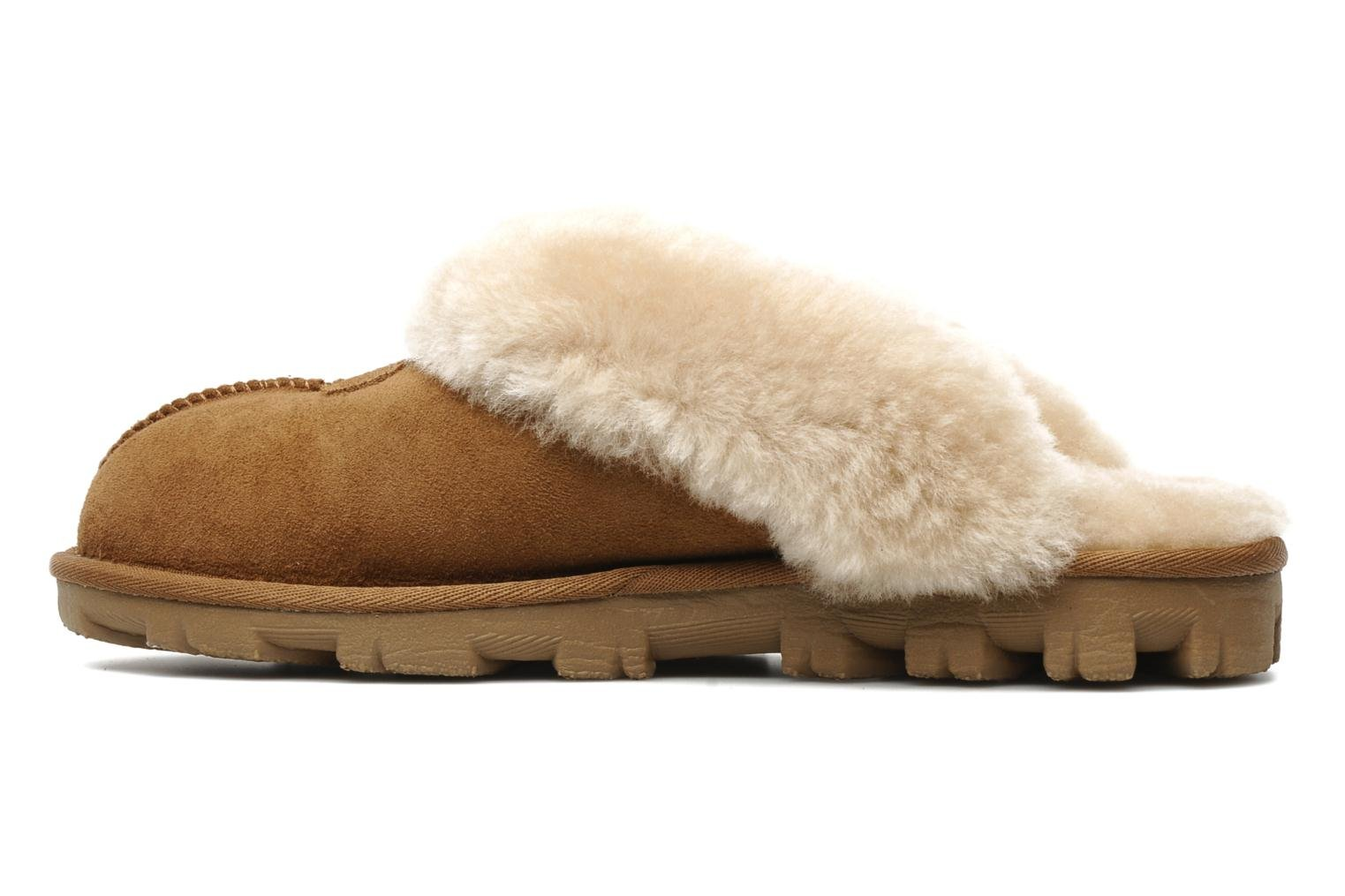 Chaussons UGG Coquette Marron vue face