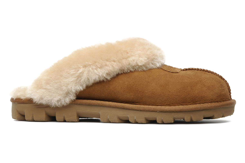 Pantoffels UGG Coquette Bruin achterkant
