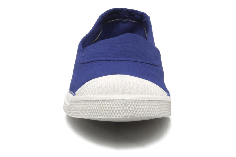 Baskets Bensimon Tennis Elastique F Bleu vue portées chaussures
