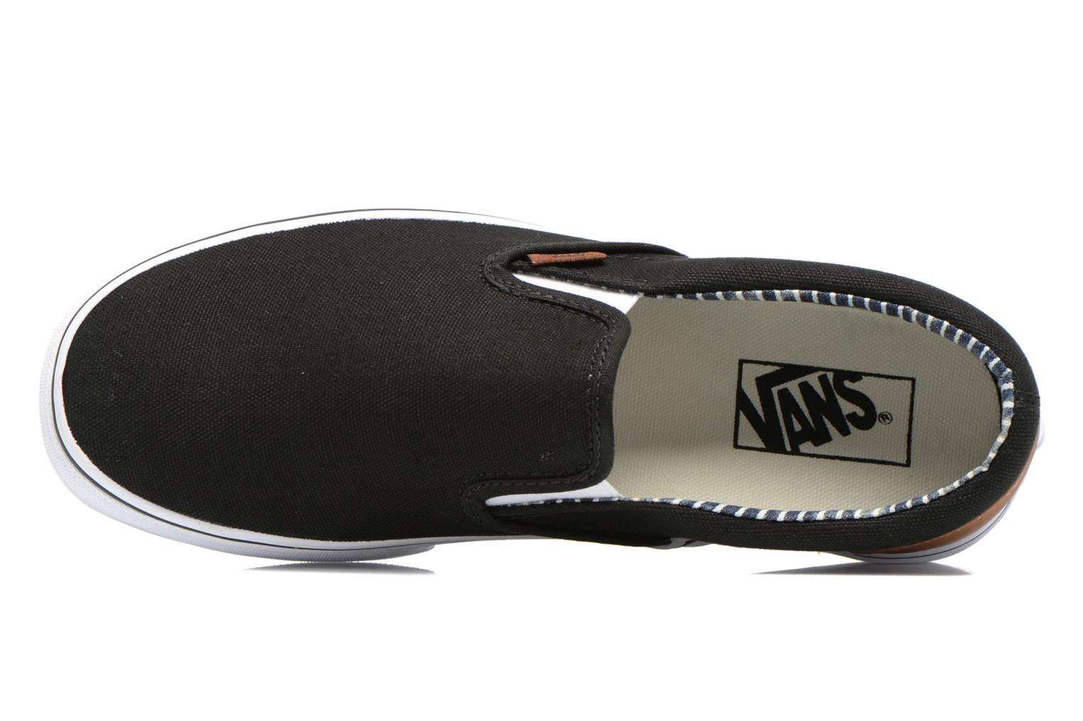 Classic Slip-on (C&L) blackstripe denim