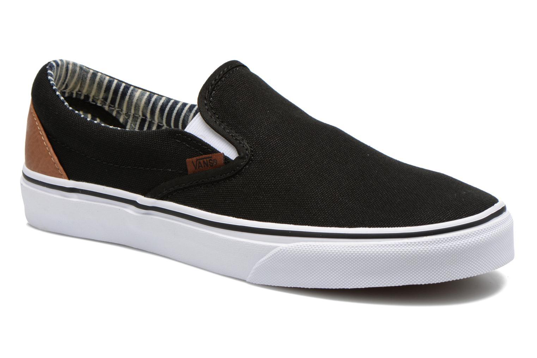 Baskets Vans Classic Slip-on Noir vue détail/paire