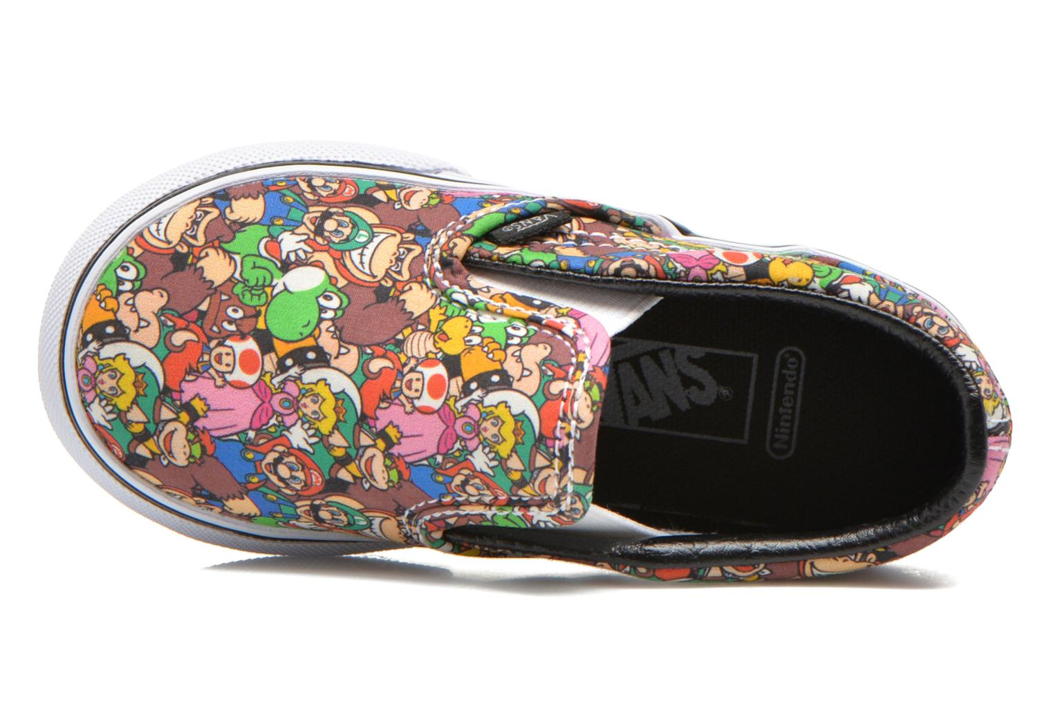 Trainers Vans Classic Slip-on BB Multicolor view from the left