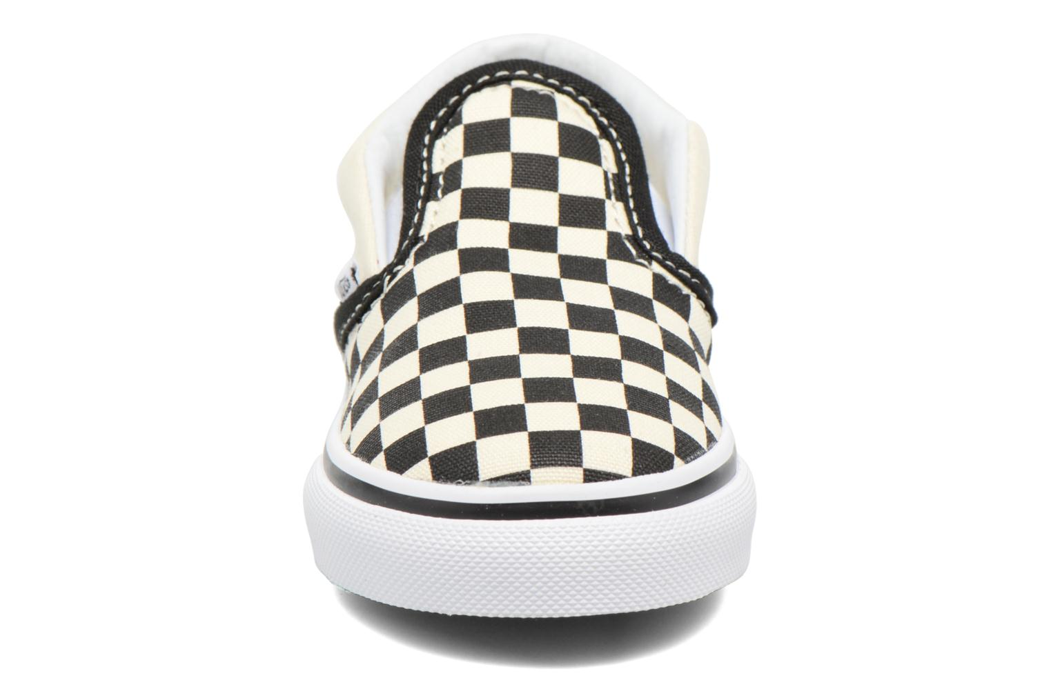 Classic Slip-on BB Black And White CheckerWhite