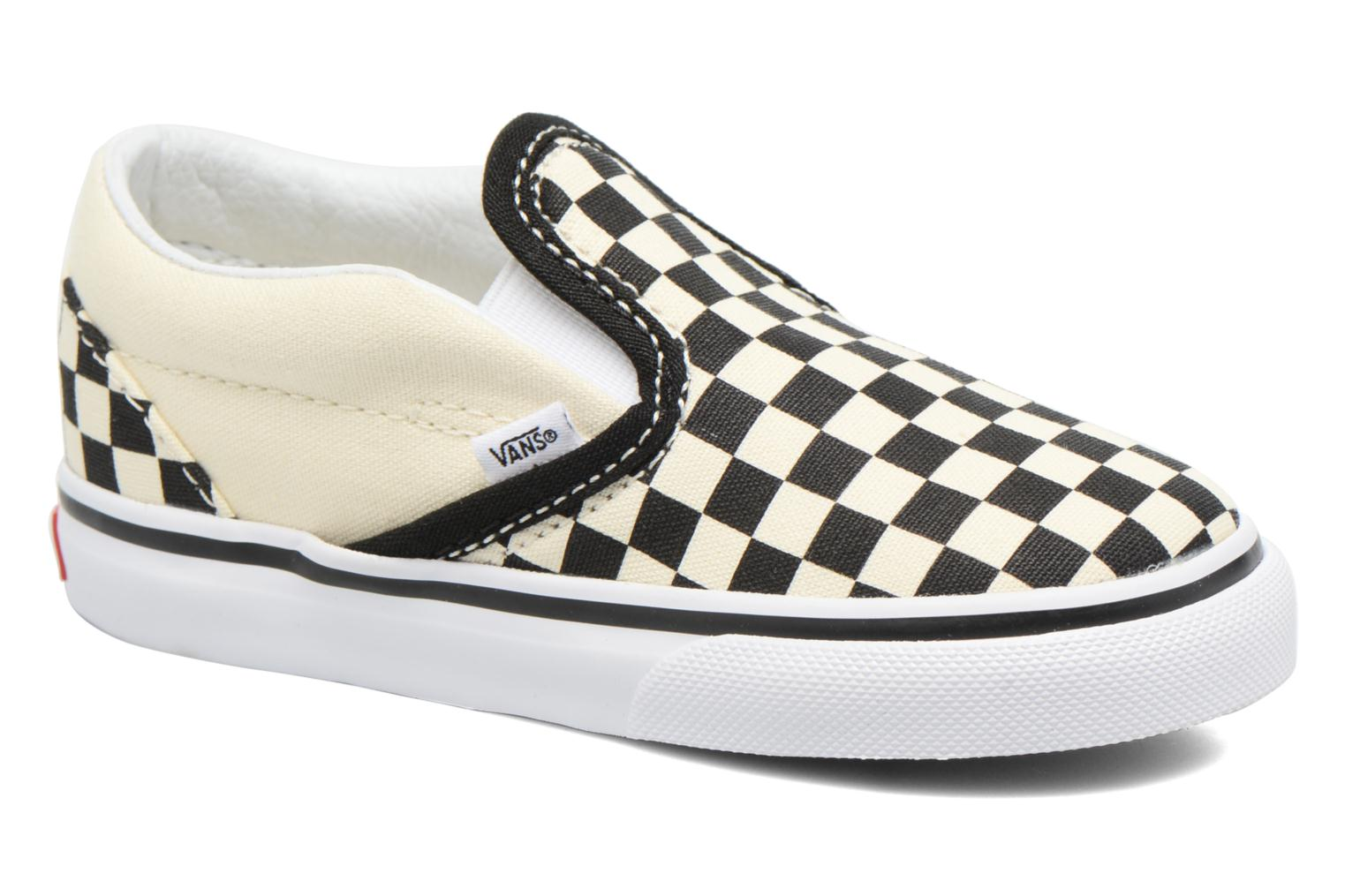 Classic Slip-on BB Blk&WhtChckerboard/Wht