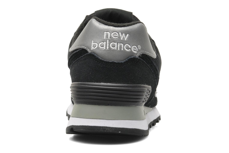 Baskets New Balance M574 Noir vue droite
