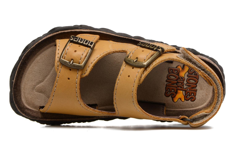 Sandales et nu-pieds Stones and Bones Wham Beige vue gauche
