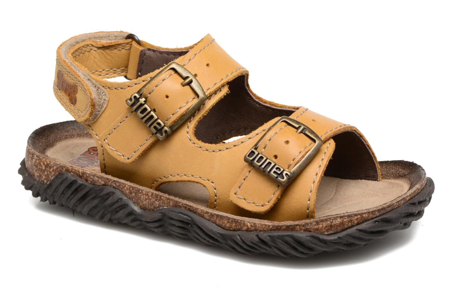 Sandals Stones and Bones Wham Beige detailed view/ Pair view