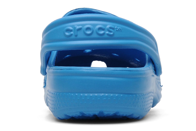 Sandales et nu-pieds Crocs Classic Kids Bleu vue droite