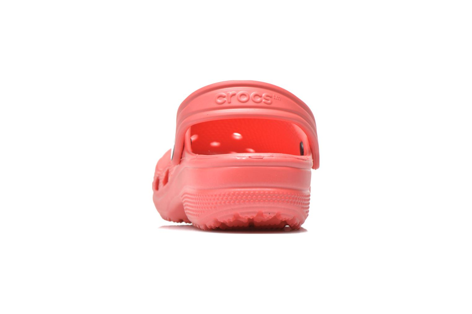 Sandals Crocs Kids Cayman Pink view from the right