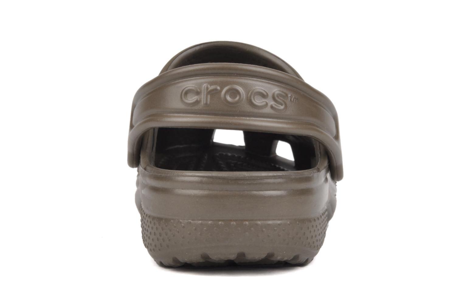 Sandals Crocs Kids Cayman Brown view from the right