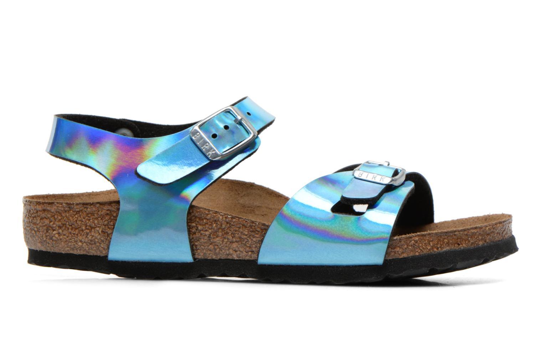 Sandales et nu-pieds Birkenstock Rio Bleu vue derrière