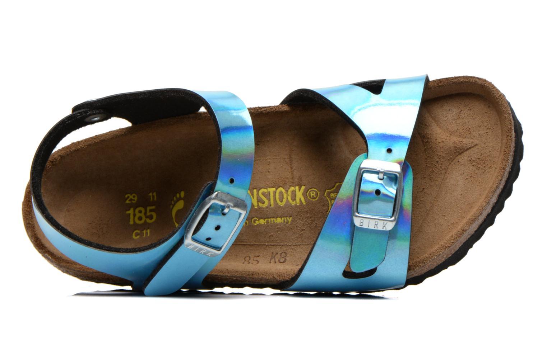 Sandales et nu-pieds Birkenstock Rio Bleu vue gauche