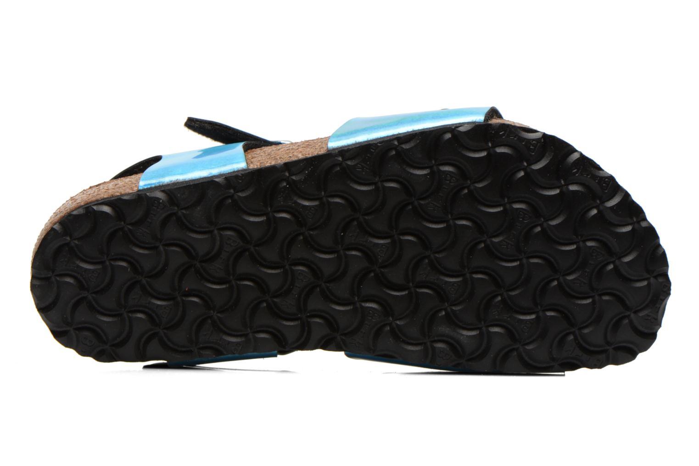 Sandales et nu-pieds Birkenstock Rio Bleu vue haut