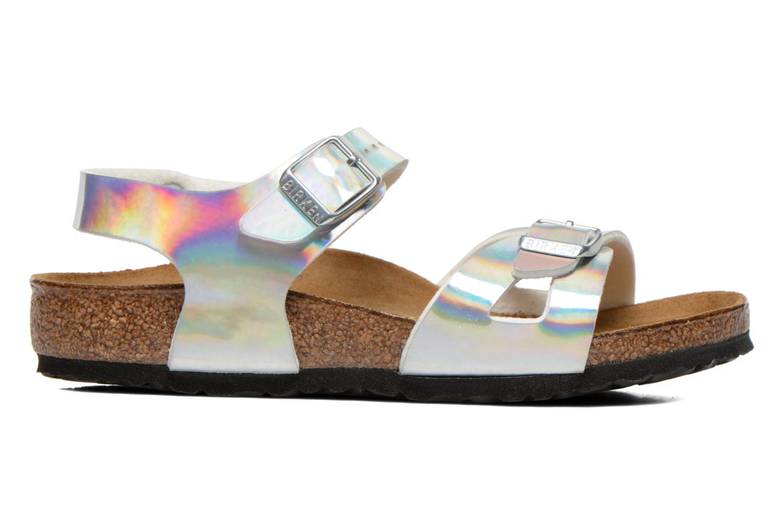 Sandals Birkenstock Rio Silver back view