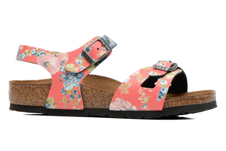 Sandalen Birkenstock Rio mehrfarbig ansicht von hinten