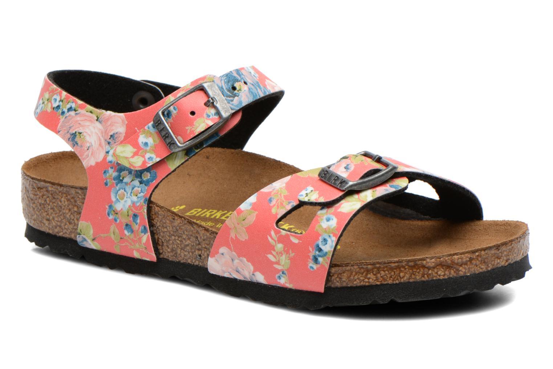 Sandales et nu-pieds Birkenstock Rio Multicolore vue détail/paire