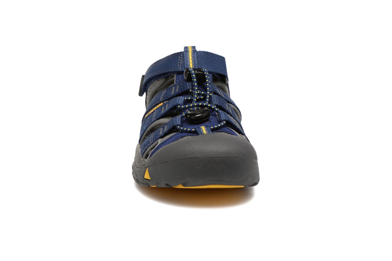 Sandalen Keen Newport H2 blau schuhe getragen
